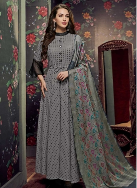 Cotton Readymade Designer Gown