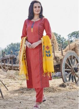 Cotton Readymade Designer Salwar Suit
