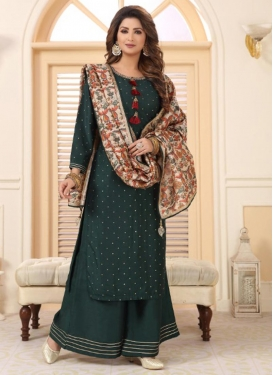 Cotton Readymade Designer Suit For Festival
