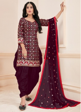 Cotton Readymade Salwar Suit For Ceremonial