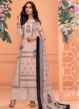 Cotton Satin Readymade Salwar Suit For Festival