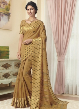 Cotton Satin Trendy Classic Saree