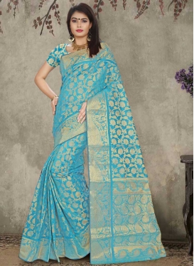 Cotton Silk Contemporary Saree