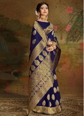 Cotton Silk Contemporary Style Saree
