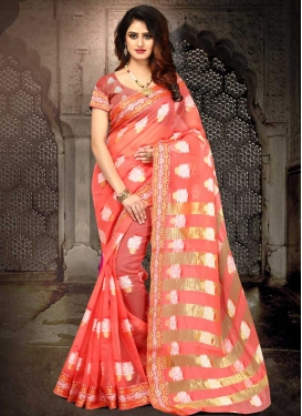 Cotton Silk Designer Contemporary Saree