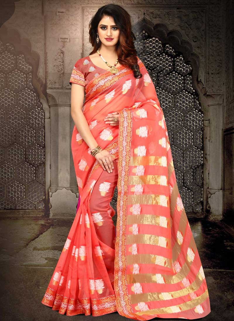 Cotton Silk Designer Contemporary Saree