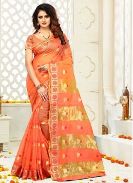 Cotton Silk Designer Contemporary Style Saree