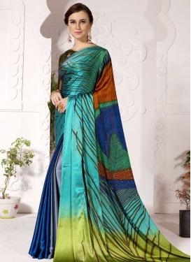 Cotton Silk Designer Contemporary Style Saree