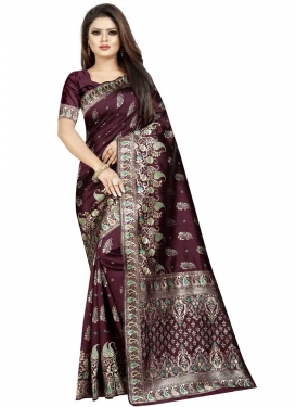 Cotton Silk Designer Traditional Saree For Ceremonial
