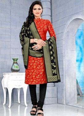 Cotton Silk Pant Style Designer Salwar Kameez For Casual