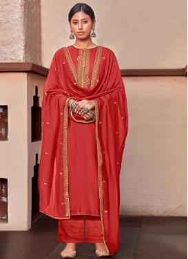 Cotton Silk Pant Style Pakistani Salwar Suit