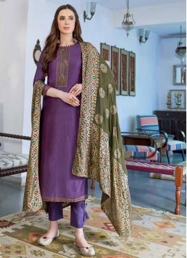 Cotton Silk Pant Style Pakistani Suit