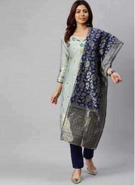 Cotton Silk Pant Style Salwar Kameez