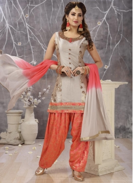 Cotton Silk Readymade Salwar Kameez