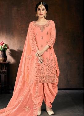 Cotton Silk Readymade Salwar Kameez For Ceremonial