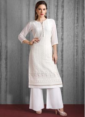 Cotton Silk Readymade Salwar Kameez For Festival