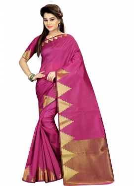 Cotton Silk Traditional Designer Saree For Casual