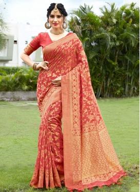 Cotton Silk Traditional Designer Saree For Ceremonial