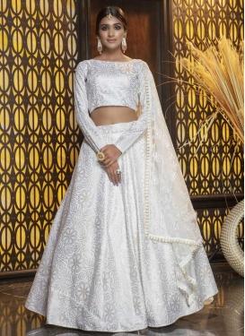 Cotton Silk Trendy A Line Lehenga Choli