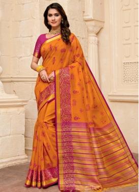 Cotton Silk Trendy Classic Saree