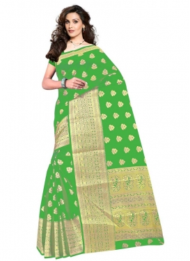 Cotton Silk Trendy Classic Saree For Casual