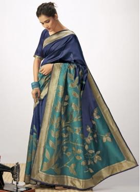Cotton Silk Woven Work Designer Traditional Saree