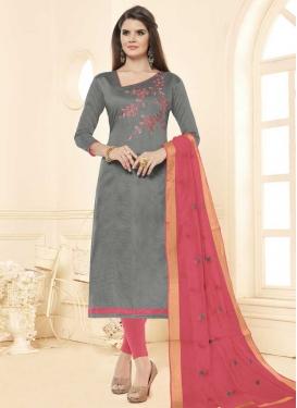 Cotton Trendy Churidar Salwar Kameez