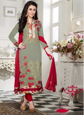 Cotton Trendy Churidar Salwar Suit