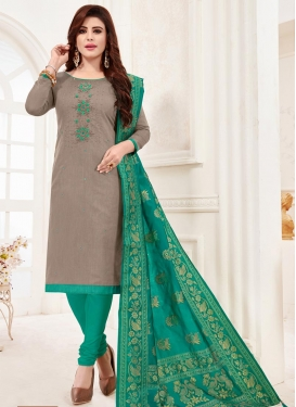 Cotton Trendy Churidar Salwar Suit For Casual