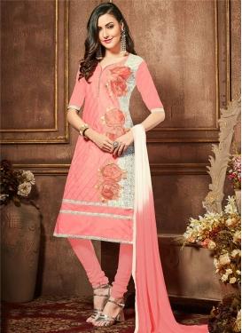 Cotton Trendy Churidar Suit