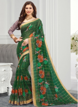 Cotton Trendy Classic Saree