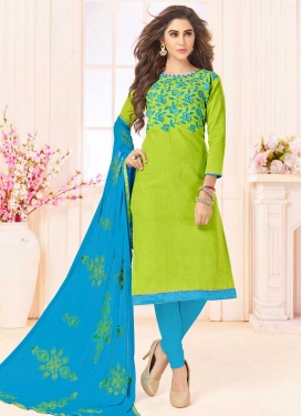 Cotton Trendy Straight Salwar Kameez