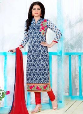 Cotton Trendy Straight Salwar Suit For Ceremonial