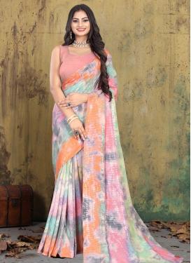 Crepe Silk Designer Contemporary Saree