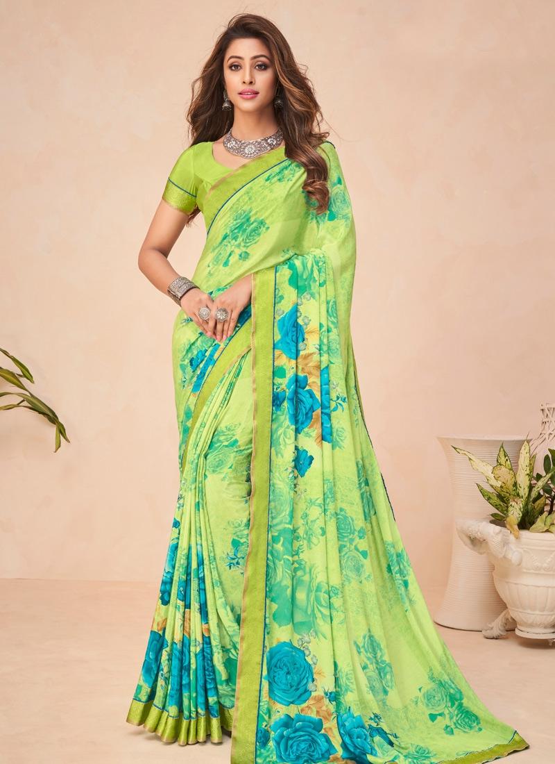 Crepe Silk Designer Traditional Saree