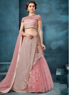 Crush Layered Designer Lehenga Choli