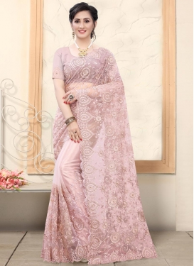 Cutdana Work Designer Contemporary Saree