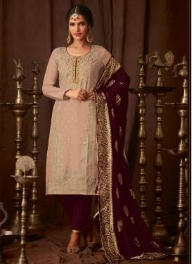 Cutdana Work Pant Style Pakistani Salwar Suit