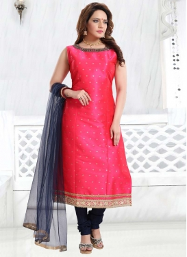 Cutdana Work Readymade Churidar Salwar Suit
