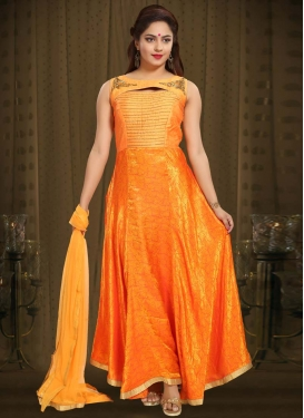 Cutdana Work Readymade Classic Gown