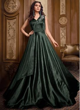 Cutdana Work Readymade Designer Gown