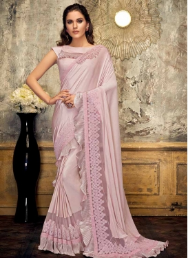 Cutdana Work Traditional Saree
