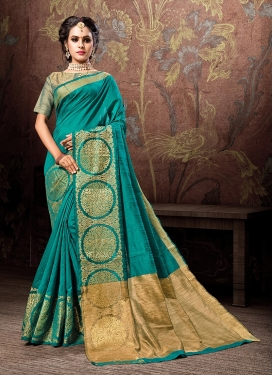 Delectable Woven Designer Traditional Saree