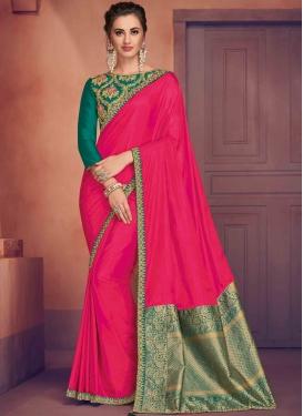 Delightful Poly Silk Designer Traditional Saree