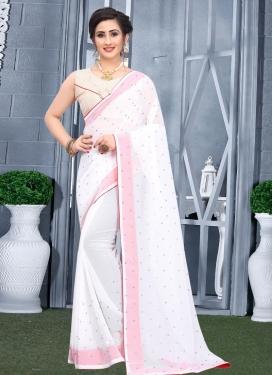 Designer Contemporary Style Saree For Casual