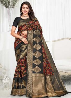 Designer Contemporary Style Saree For Ceremonial