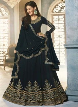 Designer Floor Length Salwar Suit For Festival