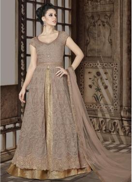 Designer Kameez Style Lehenga