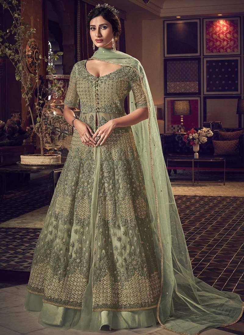 Designer Kameez Style Lehenga Choli For Party