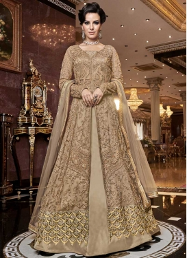 Designer Kameez Style Lehenga For Party